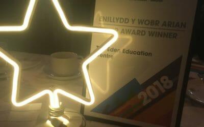 The Eden Education Centre wins Valued Partner Award