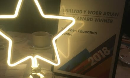 The Eden Education Centre wins Valued Partner Award